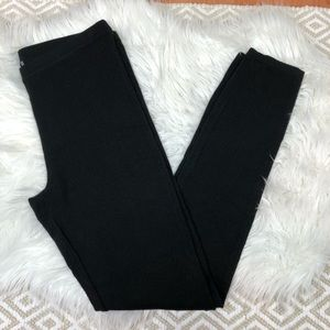 Magaschoni Black Silk Blend Legging Cashmere Small